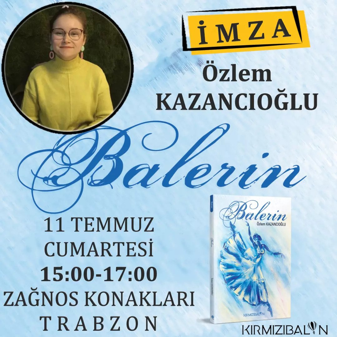 Özlem Kazancıoğlu imza günü